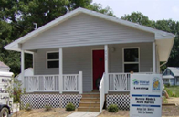 JCWP-CBA House built by Lansing (MI) Habitat for Humanity in June of 2005