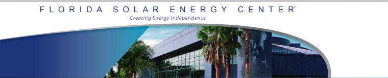 The Florida Solar Energy Center Logo
